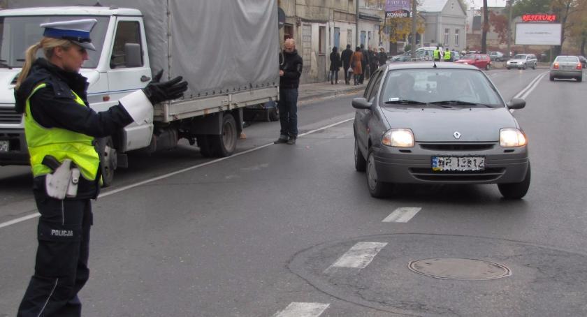 Komunikaty policji, Akcja Znicz Mazowszu - zdjęcie, fotografia