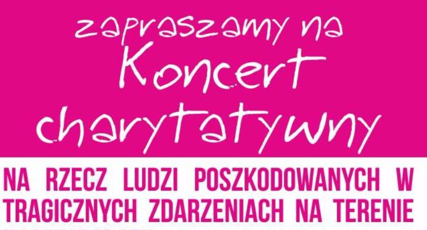 Kultura, Koncert charytatywny Słubicach - zdjęcie, fotografia