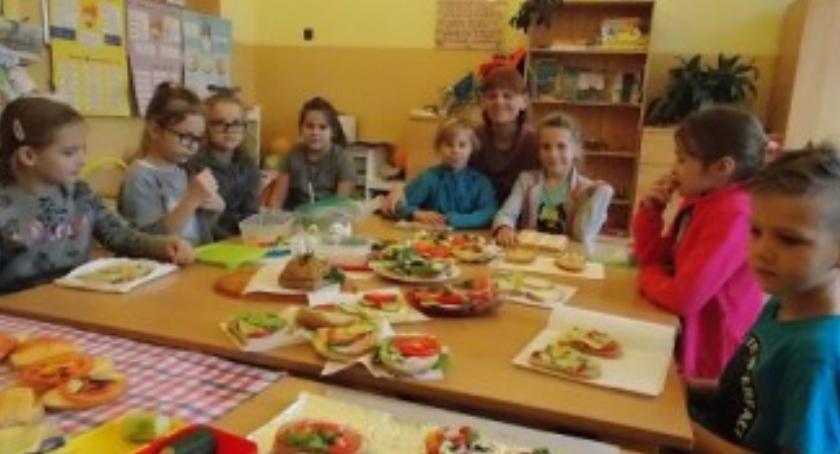 Oświata, Śniadanie Wyszogród - zdjęcie, fotografia