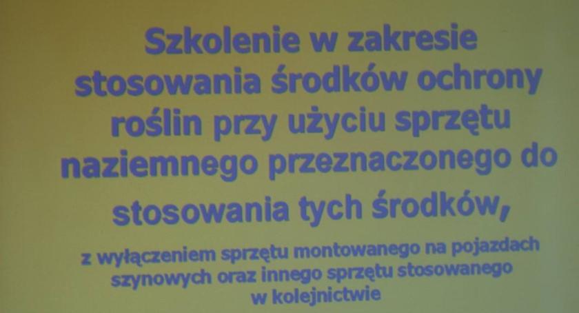 Podstawowe szkolenie chemizacyjne w Czerwińsku