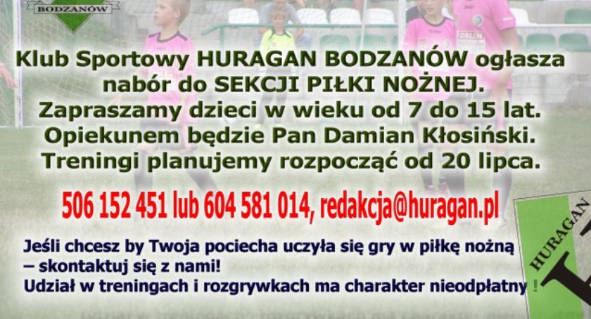 Nabór 2016 do Huraganu Bodzanów