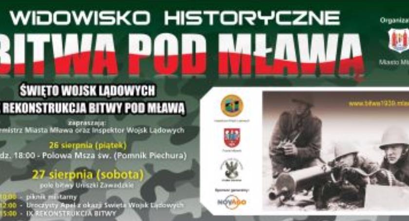 Widowisko historyczne pod Mładawą