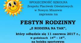 Festyn Rodzinny ,,Z rodziną na tak  w Nowym Miszewie .
