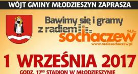 Wójt Gminy Młodzieszyn zaprasza na ,,Bawimy się i gramy z Radiem Sochaczew