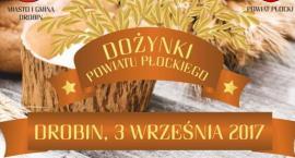 Dożynki Powiatu Płockiego 3 września w Drobinie