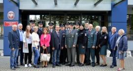 Zagraniczne delegacje Policji w Komendzie Miejskiej Policji w Płocku