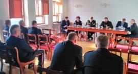 Zebranie Zarządu Oddziału Miejsko-Gminnego ZOSP RP w Wyszogrodzie