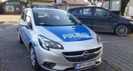 Nowy radiowóz dla  młodzieszyńskiej policji.